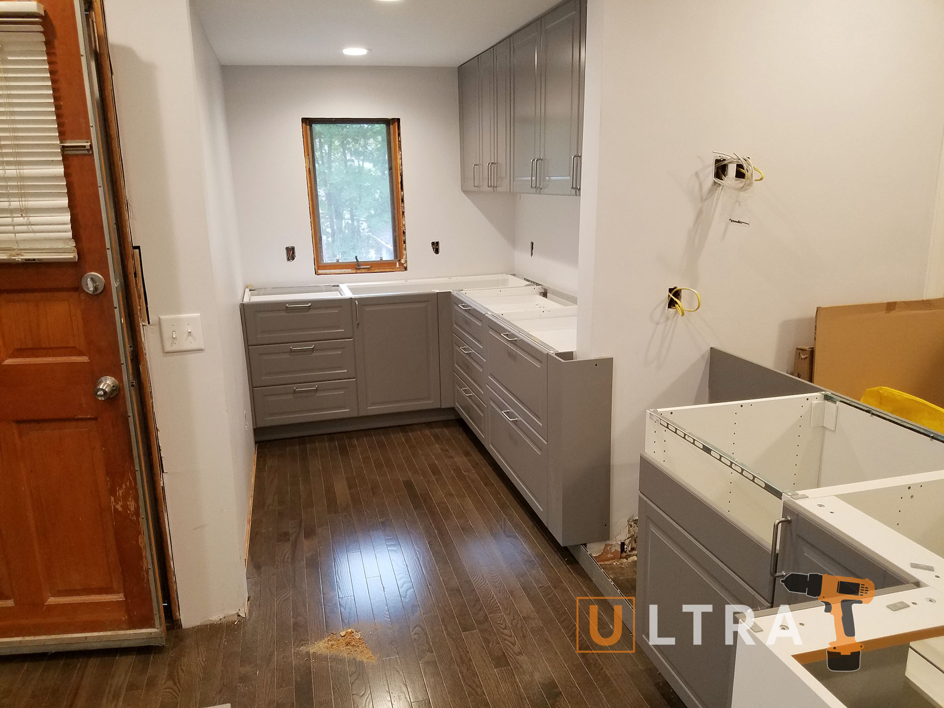 Assembly and installation of cabinets