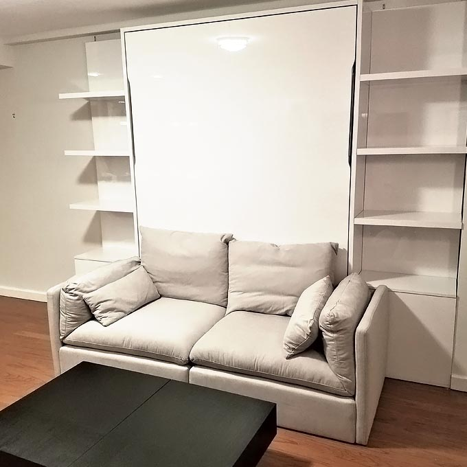 Murphy bed and Wall bed installation