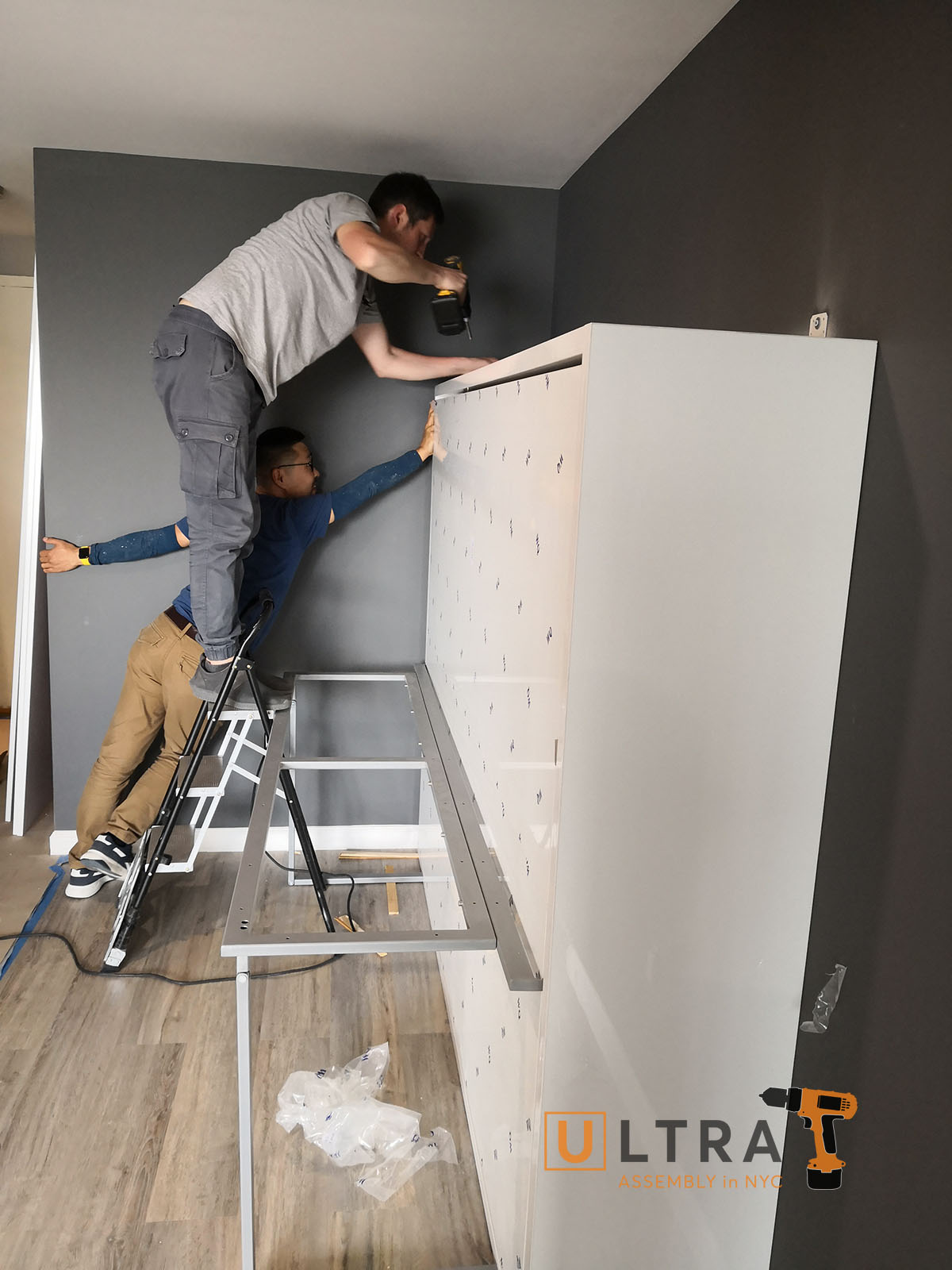 wall bed installation in New York