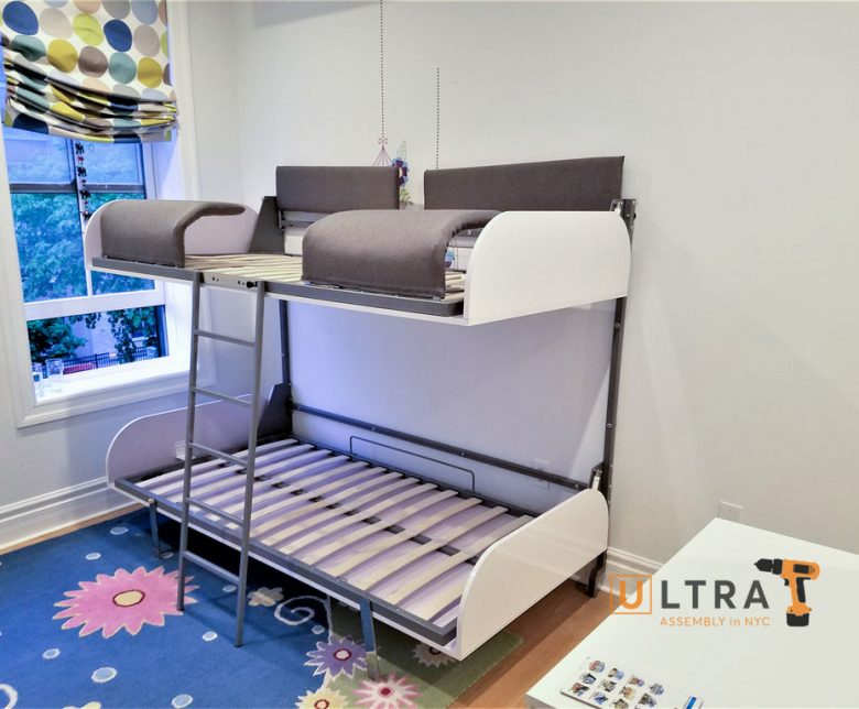 Murphy bed installation in NYC