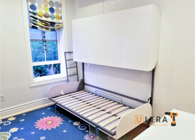 Murphy bed installation