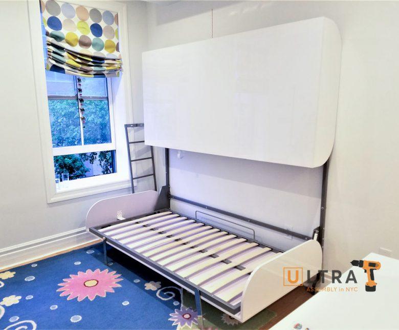 Murphy bed installation