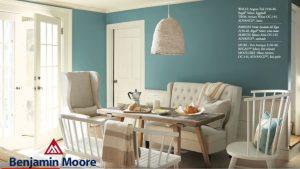 Aegean Teal color trend from Benjamin Moore