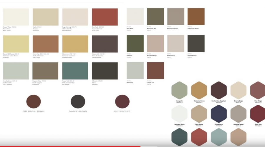 The major color trends in 2021