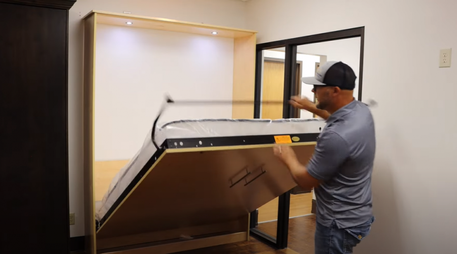 Murphy bed led