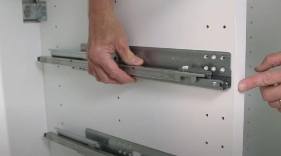 IKEA kitchen drawer assembly
