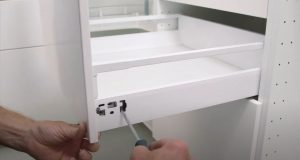 installing on kitchen cabinets