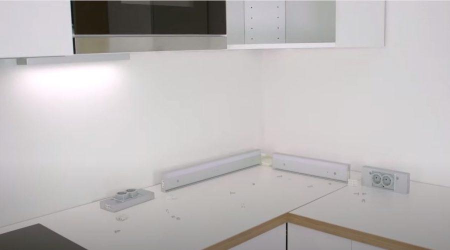 install led strip lights under cabinets