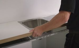 Proceed with IKEA sink installation 2