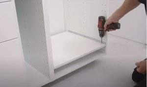 Installing kitchen appliances: refrigerator installation 1